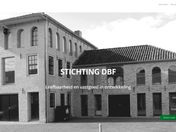 Stichting DBF – Leefbaarheid en vastgoed in ontwikkeling